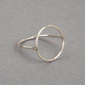 Aro anillo de plata 925