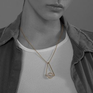 collar equilibrio plata tuna jewel project
