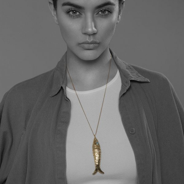 collar de plata 925, tuna jewel project