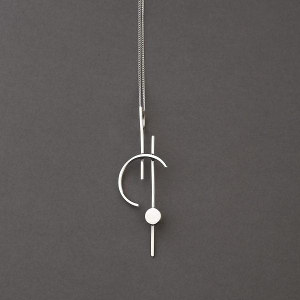 collar plata celeste tuna jewel project